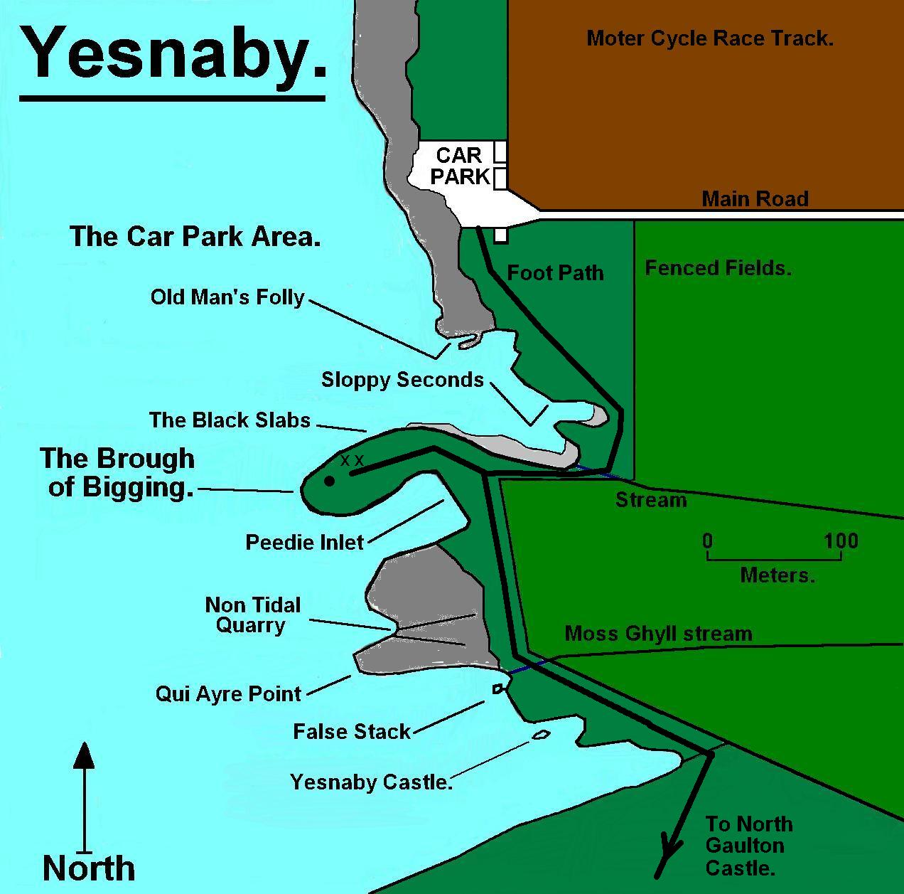 A plan of Yesnaby