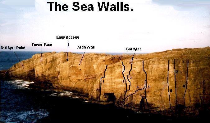 Yesnaby, The Sea Walls.